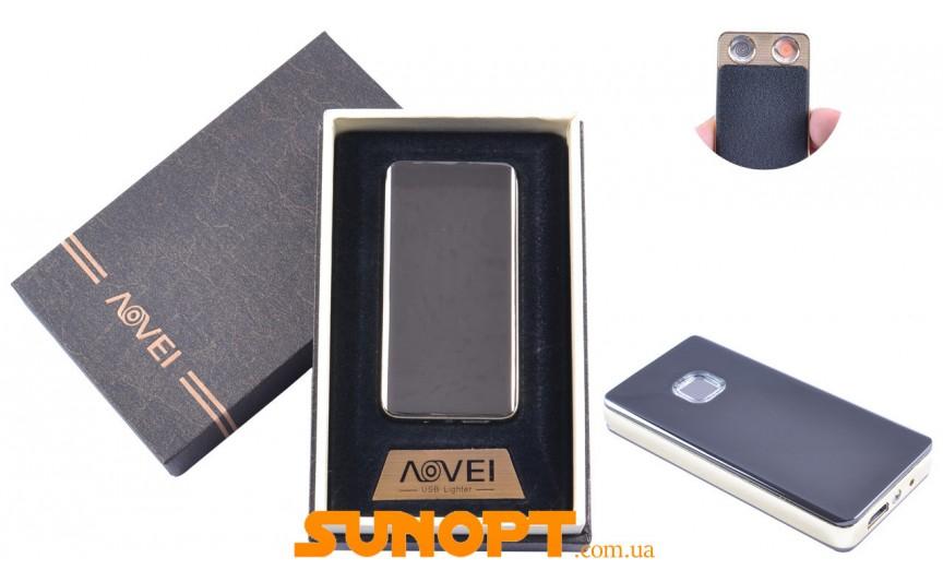 USB  зажигалка в подарочной упаковке (Две спирали накаливания) №XT-4879(2)