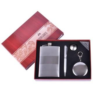 Подарочный набор 4в1 Moongrass Фляга/ Стакан-брелок/ Ручка/ Лейка №BB-015