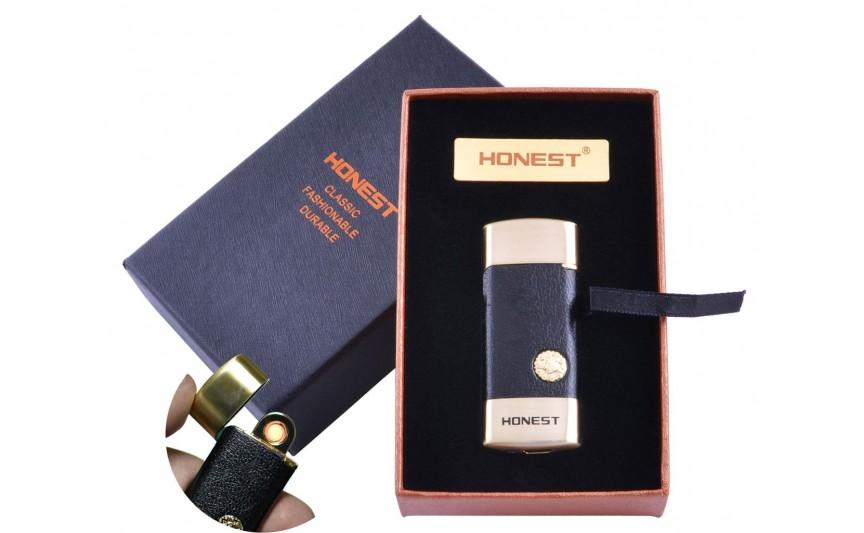 USB  зажигалка в подарочной упаковке Honest (Спираль накаливания) №XT-4979-1