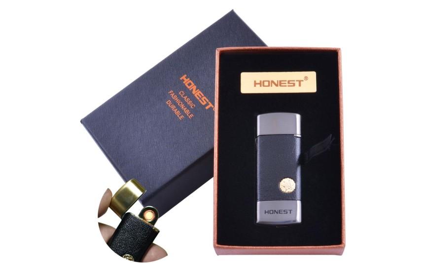 USB запальничка в подарунковій упаковці Honest (Спіраль розжарювання) №XT-4979-2