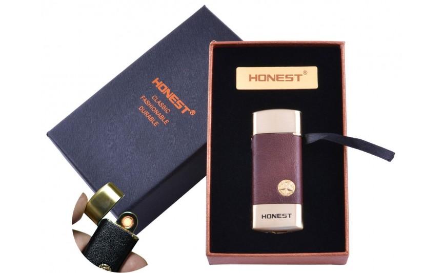 USB  зажигалка в подарочной упаковке Honest (Спираль накаливания) №XT-4979-3