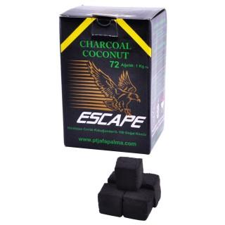 Уголь для кальяна кокосовый COCO-1 Escape 1кг 72 кубика