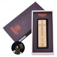 USB зажигалка в подарочной коробке Hasat №HL-66-3