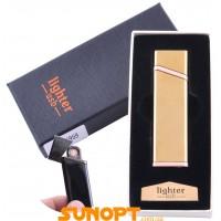 USB  зажигалка в подарочной упаковке Lighter (Спираль накаливания) №XT-4959-3