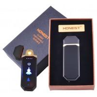 USB зажигалка в подарочной коробке Honest (Спираль накаливания) №HL-98-1
