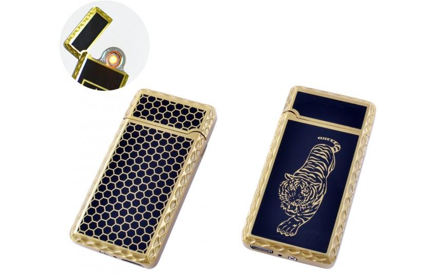 USB зажигалка Тигр (Спираль накаливания) №HL-140-1