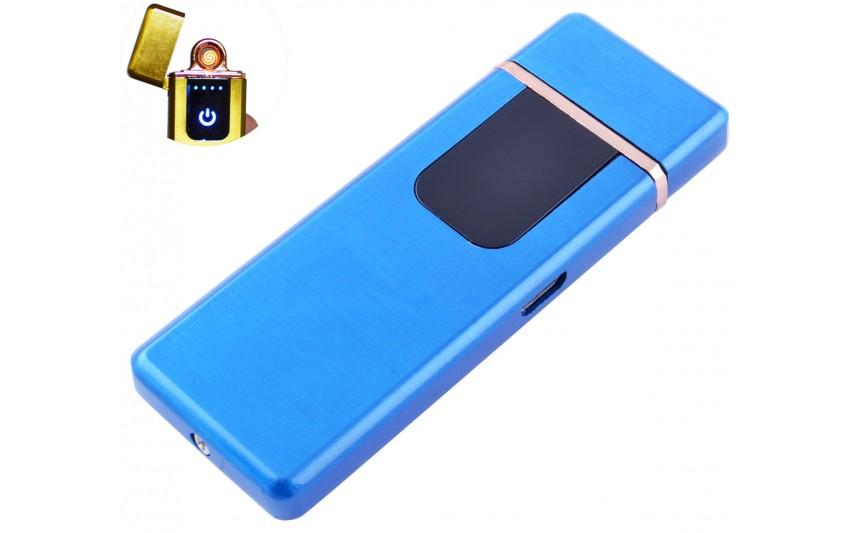 USB зажигалка Lighter №HL-143 Blue