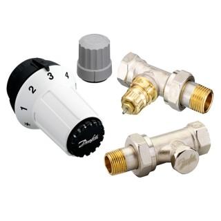 Комплект термостатический прям.дизайн 1/2 RAS-C+RA-NF+RLV-S Danfoss (013G5254)