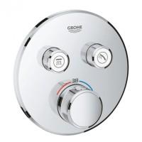 Внешняя часть термостатического смесителя для душа Grohe SmartControl 29119000 на два потребителя