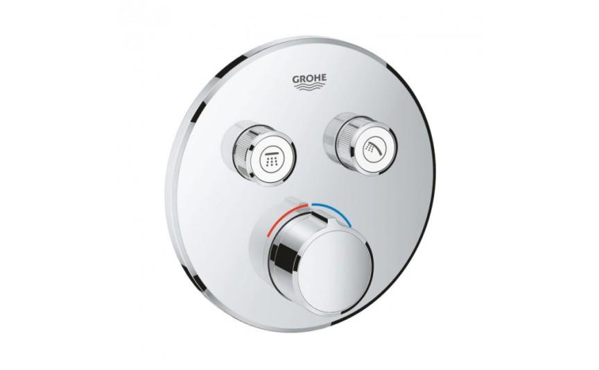 Панель смеситель для встраиваемого монтажа на 2 выхода Grohe SmartControl 29145000