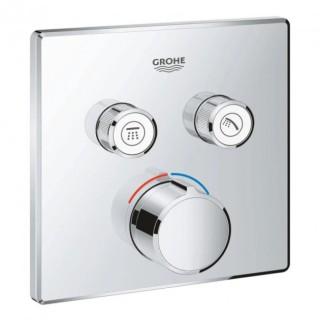 Панель смеситель для встраиваемого монтажа на 2 выхода Grohe SmartControl 29148000