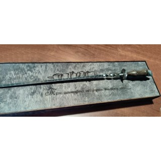 """Шампур з нержавійки з дерев'яної ручкою """"Кабан"""""""