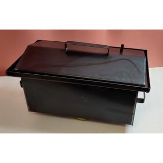 Коптильня гарячого копчення 1,0 мм 520х310х260 мм з термометром