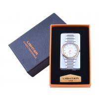 USB  Запальничка з годинником в подарунковій упаковці LIGHTER (Cпіраль розжарювання) №XT-4957-2
