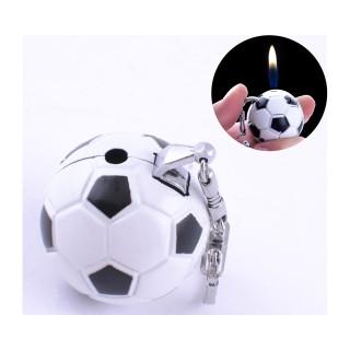 Зажигалка карманная-брелок мяч (обычное пламя) №2500