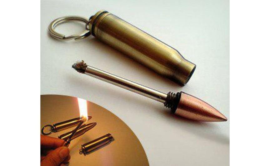 Бензиновий сірник-патрон АК-47 №HL-81