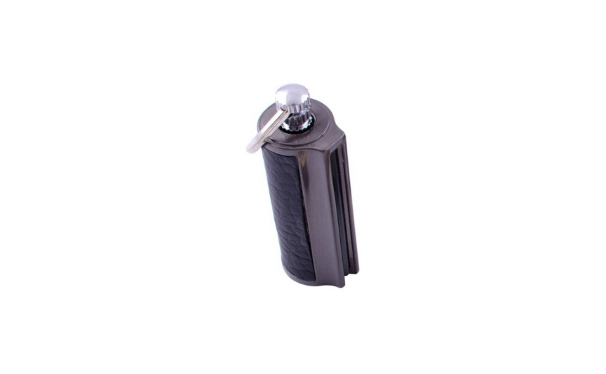 Бензиновий сірник-брелок №HL-87-1 Чорний