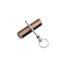 Бензинова сірник-брелок №HL-87-1 Золотий