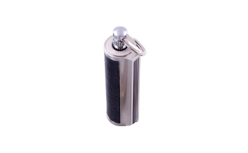 Бензиновий сірник-брелок №HL-87-1 Срібний