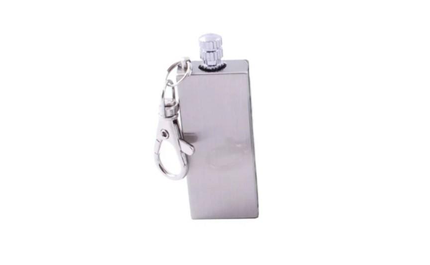 Бензинова сірник-брелок Dolphin №HL-86 Срібний