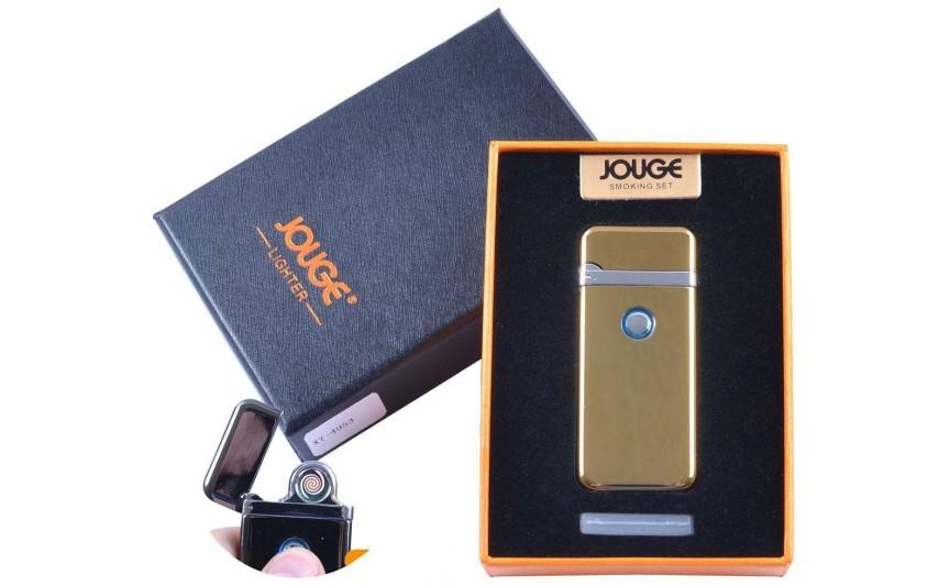 """USB запальничка в подарунковій упаковці """"Jouge"""" (Двостороння спіраль розжарювання) №XT-4953-2"""