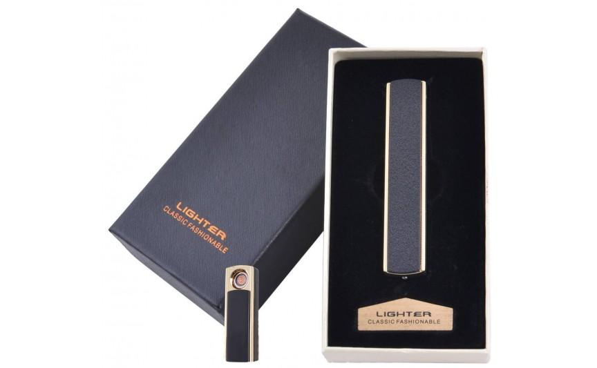 USB  зажигалка в подарочной упаковке Lighter (Cпираль накаливания) №4872-3