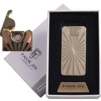 """USB запальничка в подарунковій упаковці """"Абстракція"""" (спіраль розжарювання) №4794С-5"""