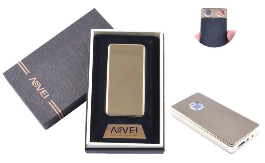 USB  зажигалка в подарочной упаковке (Две спирали накаливания) №XT-4879(3)