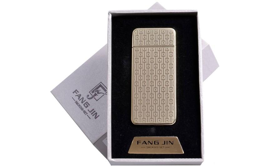 """USB запальничка в подарунковій упаковці """"Абстракція"""" (спіраль розжарювання) №4796В-4"""