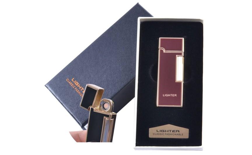 """USB запальничка в подарунковій упаковці """"LIGHTER"""" (Двостороння спіраль розжарювання) №4870-2"""