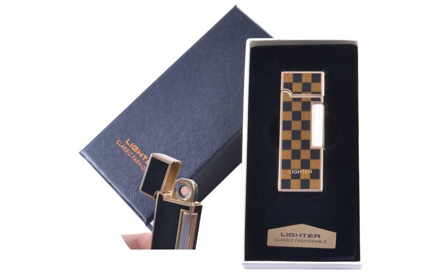 """USB зажигалка в подарочной упаковке """"LIGHTER"""" (Двухсторонняя спираль накаливания) №4870-3"""