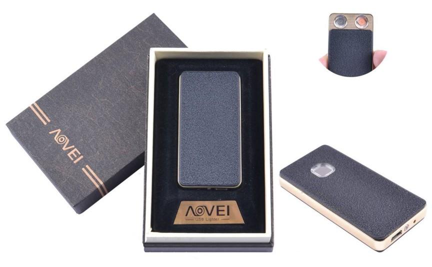 USB  зажигалка в подарочной упаковке (Две спирали накаливания) №XT-4879-1(1)