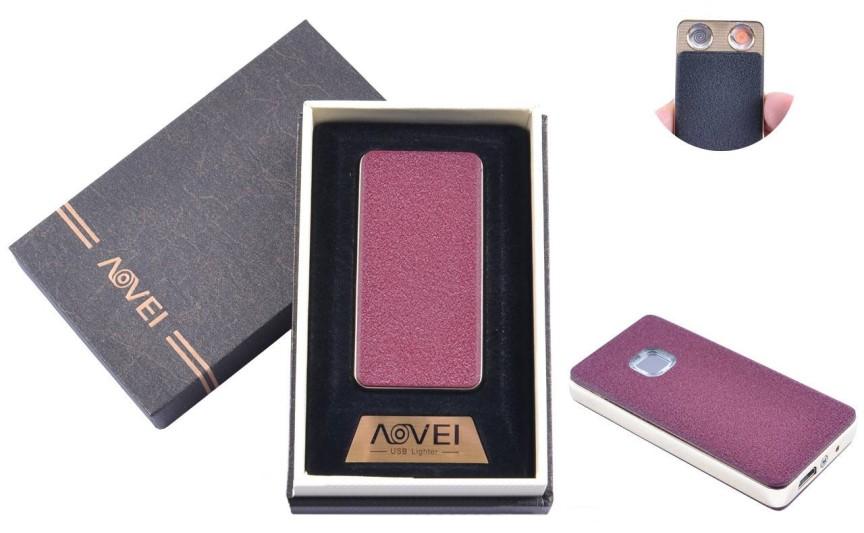 USB запальничка в подарунковій упаковці (Дві спіралі розжарювання) №XT-4879-1 (2)