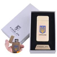 """USB запальничка в подарунковій упаковці """"Герб України"""" №4797"""