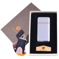 """USB запальничка в подарунковій упаковці """"Flamingo"""" (Двостороння спіраль розжарювання) №XT-4880-1"""