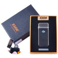 """USB зажигалка в подарочной упаковке """"Jouge"""" (Двухсторонняя спираль накаливания) №XT-4953-4"""