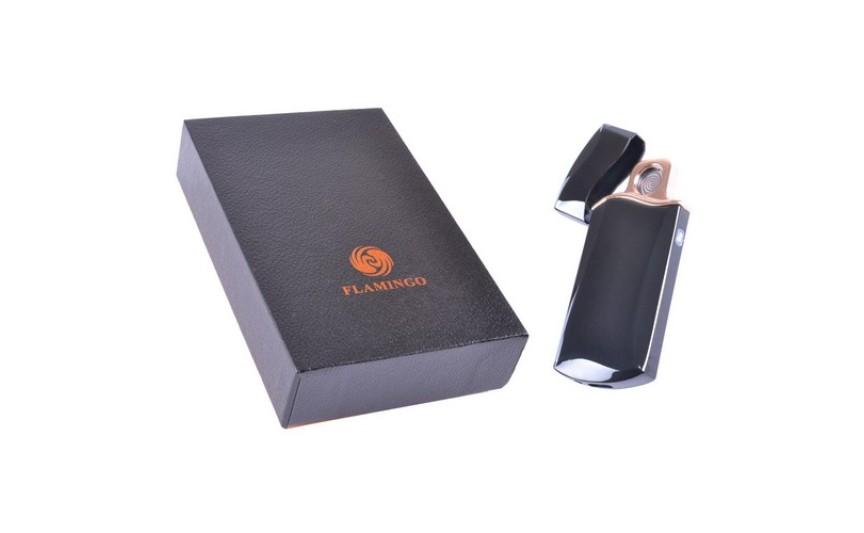 USB  Запальничка в подарунковій упаковці FLAMINGO (Cпіраль розжарювання) №XT-4955-1