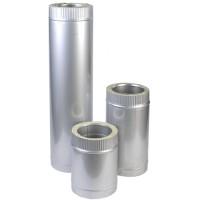 Труба для димаря  (нерж/оцинк) з термоізоляцію d 160/220