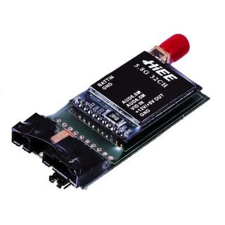 Відеопередавач HIEE 5.8 GHz TS3202 200mW 3S-6S 32 канали для FPV систем 800м