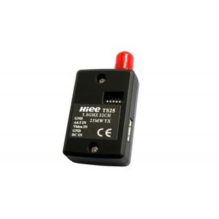 Відеопередавач мікро HIFI 5.8 GHz TS25 25mW 22 канали для FPV систем 350м
