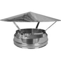 Грибок термо для дымохода с термоизоляцией из нержавеющей стали d 140/200