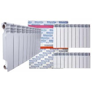 Біметалічний радіатор Bitherm 350 * 80