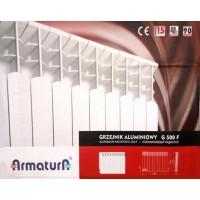 Алюминиевые радиаторы ARMATURA G500F(12секций)