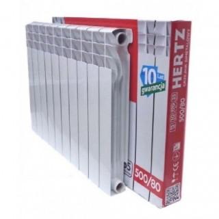 Біметалічний радіатор Hertz 500*80