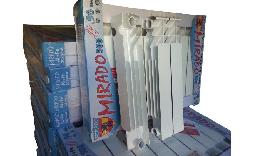 Біметалічний радіатор опалення Mirado 500/96