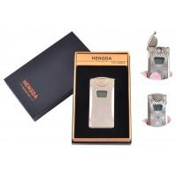 USB зажигалка в подарочной упаковке Hengda (Спираль накаливания, Счетчик поджигов) №XT-4873-2