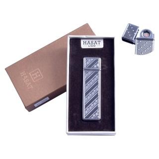 """USB запальничка в подарунковій упаковці """"Hasat"""" (Двостороння спіраль розжарювання) №4800-1"""