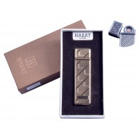 """USB запальничка в подарунковій упаковці """"Hasat"""" (Двостороння спіраль розжарювання) №4800-5"""