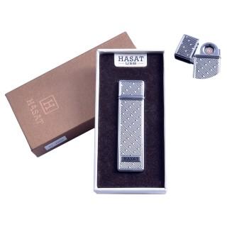 """USB запальничка в подарунковій упаковці """"Hasat"""" (Двостороння спіраль розжарювання) №4800-8"""
