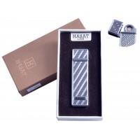 """USB зажигалка в подарочной упаковке """"Hasat"""" (Двухсторонняя спираль накаливания) №4800-10"""